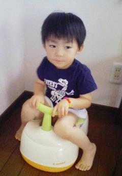 トイレトレーニング中♪