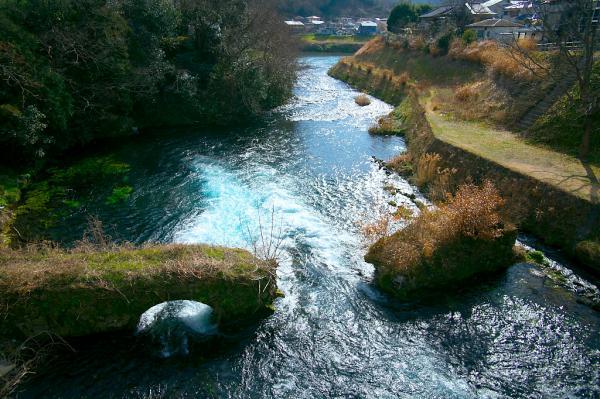 廃橋と狩野川合流点