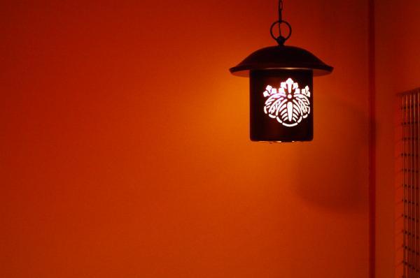 廊下の灯り
