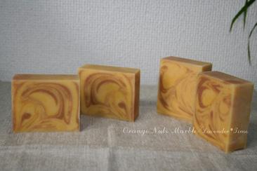 Orange Nuts Marble