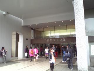 千葉県文化会館入口