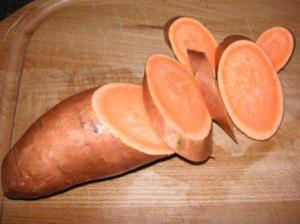 オレンジのさつま芋