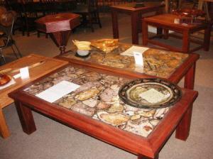 バール断面テーブル