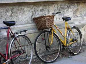 アイリスが乗っていた自転車