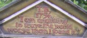 TB記念碑上