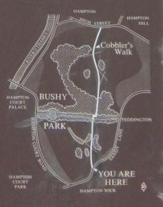 ブッシーパーク地図