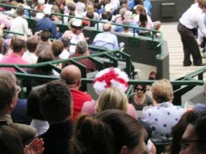 イングランドの帽子