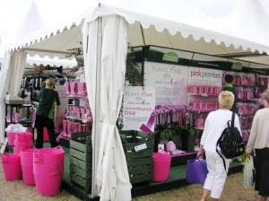 ピンクのお店