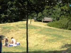 裸のカップル