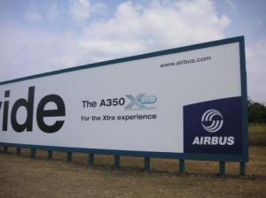 a350の看板