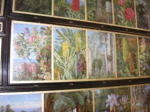 数枚の絵がある。