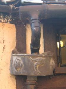 樋周りの修飾