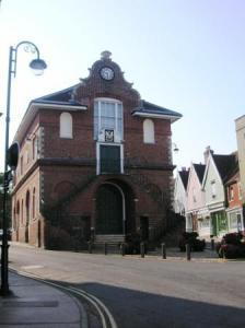 市役所の建物