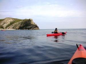 出航時の静かな水面