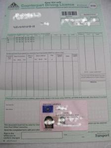 full driver's license