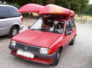 御年15歳の車です。