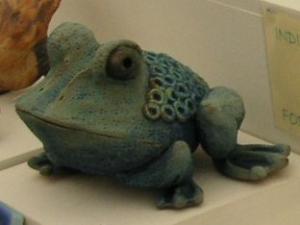 気に入った蛙