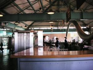 5階の食堂の風景。