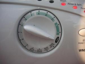 洗濯機のダイアル