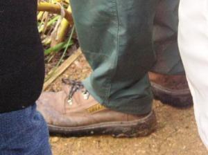 シェルパの靴