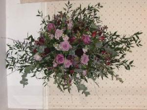 ヘッドテーブル上の花