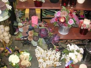 これも花屋の店頭です