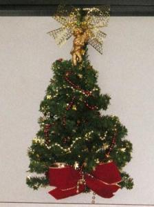 クリスマストゥリー形の壁掛け