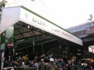バラマーケットはロンドンブリッジ駅のすぐ近く