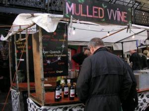 mulled wineの屋台