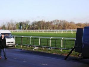 レースコース方向の写真