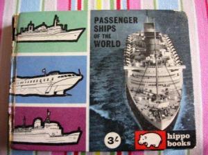 カバのマークの客船の本