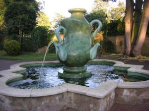 giant tea pot