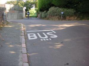 これがバス停