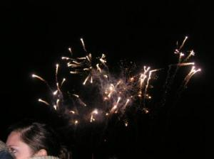 firework started
