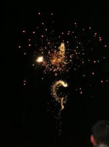 ひゅるひゅる花火