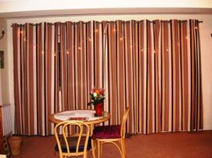 curtain of the sitting room