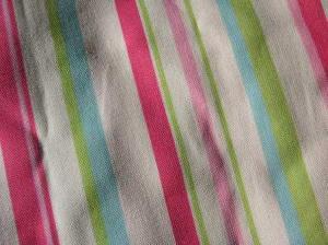縞模様の布地