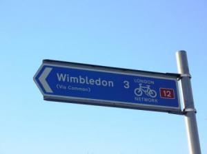 ウインブルドンに着けない