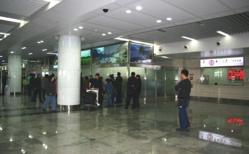 大連周水子国際空港内中國銀行両替所