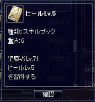 ヒールLv.5