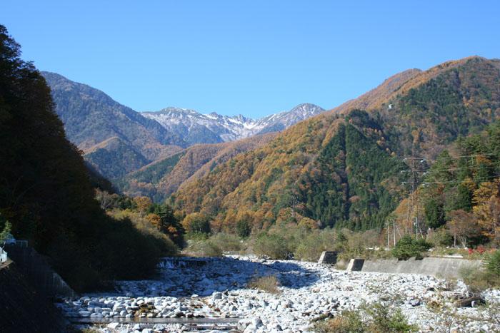太田切川より