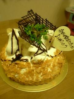 記念日ケーキっ