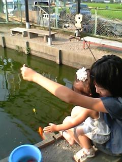 釣れたぁ~♪