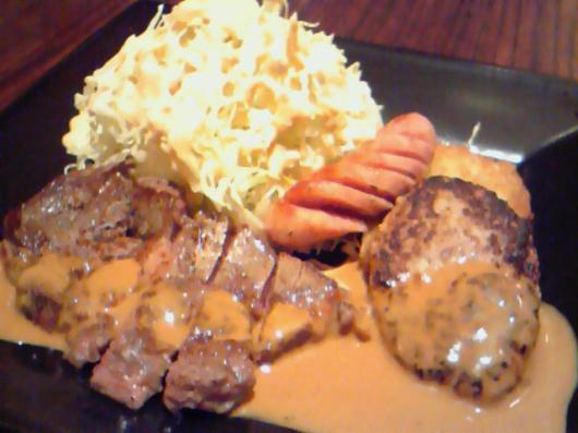 義(ステーキ&ハンバーグ)