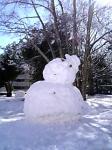 雪だるま・大