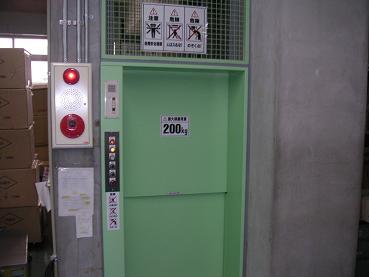 エレベーターもあるでよ。