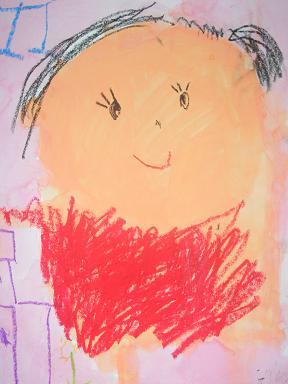 航季 5歳 母の日の絵