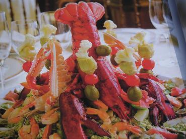 ジェノバの伝統料理 カッポン・マーグロ