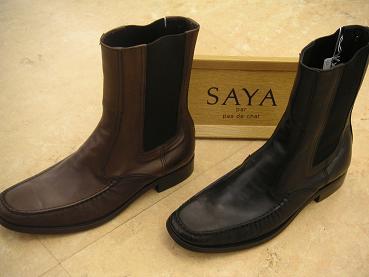 """""""SAYA"""" のブーツ ¥28350"""
