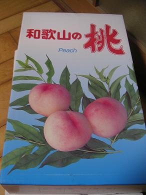 和歌山の桃!